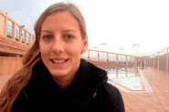 Marta Bach, jugadora de waterpolo