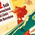 """""""Cartell del 32è Saló Internacional del Còmic de Barcelona, sobre el tema dels herois i guerrers"""""""