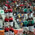 """""""Moment de diumenge al Tarraco Arena del XXVè Concurs de Castells"""" Imatge: Coordinadora de Colles Castelleres de Catalunya (CCCC)"""