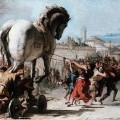 """""""La carta que fomenta l'extremisme islàmic des de les escoles, considerada un Cavall de Troia com en el quadre de Giovanni Domenico"""""""
