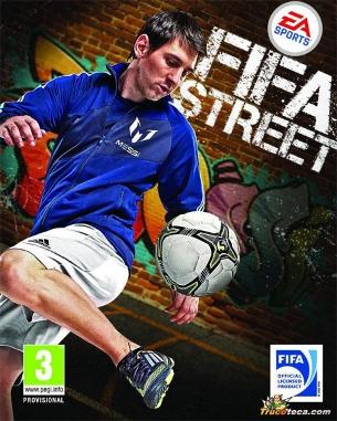 Messi és la imatge del videojoc de la setmana. (Foto: FIFA Street 2012)