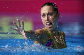 La Gemma s'ha estrenat com a comentarista televisiva durant els Jocs Olímpics de Londres.