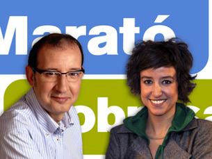 """Bassas i Marquès presentaran """"La Marató per la pobresa"""". (Foto: TV3)"""