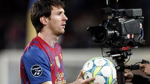 """Messi va fer un """"hat-trick"""" i dos gols més. (Foto: Reuters)"""