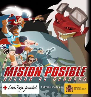 Sigues un superheroi ecològic amb aquest Serious Game. (Foto: cruzroja.es)