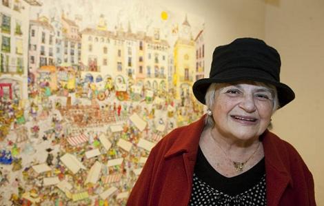 Pilarín Bayés porta 50 anys de carrera. (Foto: blocs.xtec.cat)