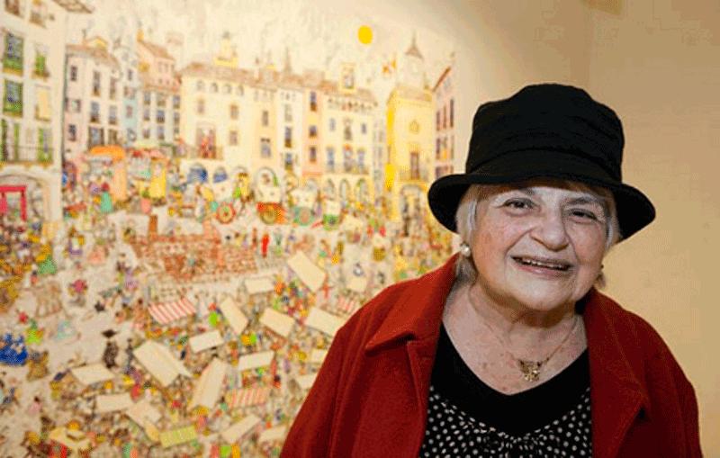 Pilarín Bayés, il·lustradora